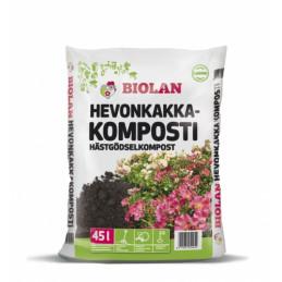 Biolan Hevonkakkakomposti 45 l