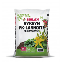 Biolan Syksyn PK-lannoite,...