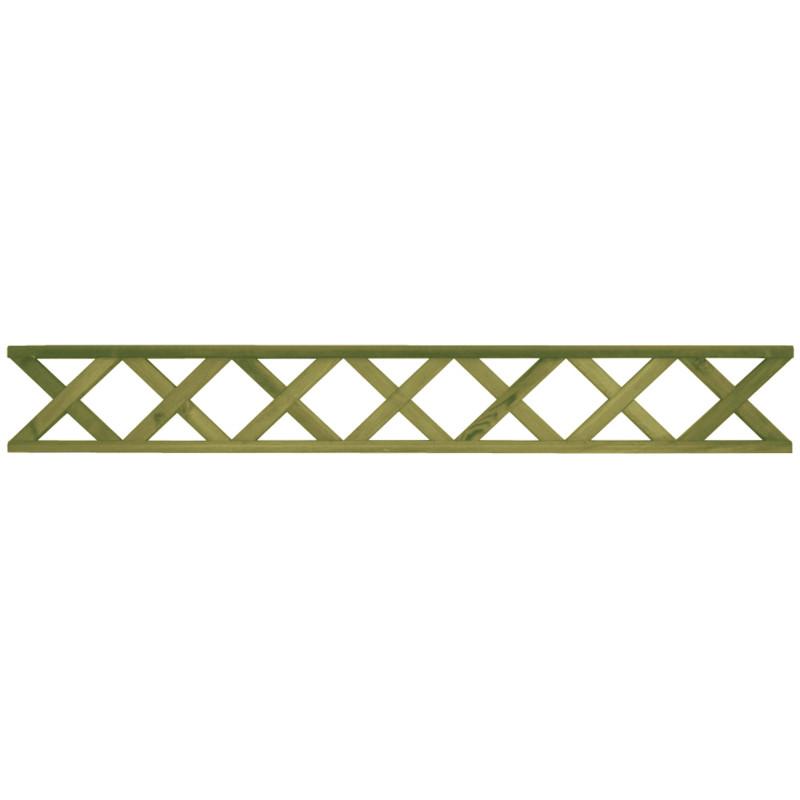 Aitaelementti Tammiston Puu Ristikko 1800x250 mm koristeristikko