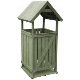 Tammiston Puu jätekatos Classic + ovi
