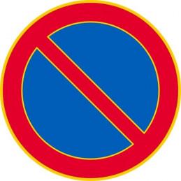 Pysäköinti kielletty C38...
