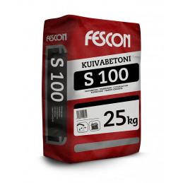 Fescon S100 kuivabetoni,...