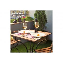 Pöytä, neliskulmainen